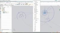 NX视频教程第九讲:草图实例3(偏置曲线)