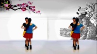 阳光美梅广场舞【看透爱情看透你】双人对跳舞-制作:永不疲倦