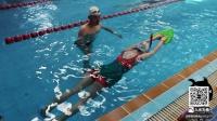 【入水为鱼】自学自由泳教学视频2--扶板麒麟臂