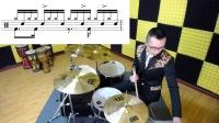 【小生架子鼓】复合跳&Fusion融合节奏 爵士鼓 架子鼓教程 架子鼓Solo 2