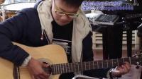 晨光琴行优秀学员严睿吉他弹唱《红河谷》喜欢的亲 请分享