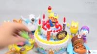 2017玩具视频生日蛋糕水果切切乐
