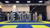 跆拳舞慢动作教学2