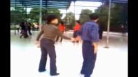 学跳三步踩3