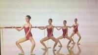 浙江省舞蹈考级8级-3单手扶把蹲