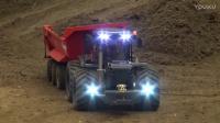工程遥控模型 模拟建筑工地 遥控挖机拖拉机拖车 合集1
