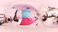 360 VR 全景 虚拟现实 男人装女神何念茲的福利比坚尼写真!