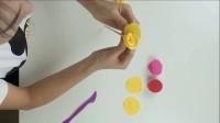 幼儿园橡皮泥-儿童彩泥 手工制作玫瑰花教程