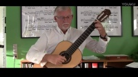 【古典吉他】丹麦老头Per-Olov Kindgren演奏Justin Time