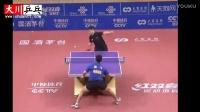 薛飞vs樊振东【2016中国乒乓球超级联赛】直板的希望