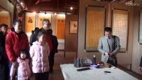 现场直播:中视频道书画院杨哲先生书法展在泉州隆重举行[江改银报道]   M2U01478