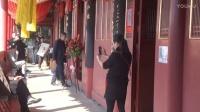 现场直播:中视频道书画院杨哲先生书法展在泉州隆重举行[江改银报道]  M2U01473