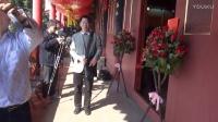 现场直播:中视频道书画院杨哲先生书法展在泉州隆重举行[江改银报道] M2U01474