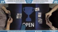 SCGRICH - Round 3 B - Jadine Klomparens vs Marius Cholewa (
