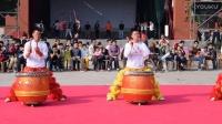 2017湛江粤西弘农龙狮团到化州市莲花园村年例表演之金鼓齐鸣、八狮报喜