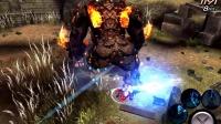 世界2 狩猎 BOSS挑战手游 D级任务-熔岩守护者石巨人和帝国守护者霸王龙