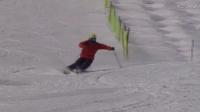 韩国自然滑雪技术09:自然的刻滑小弯