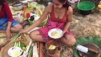 柬埔寨妹子美食