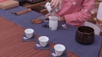 【茶香记】原矿高岭土釉下彩手绘盖品杯