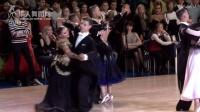 2017年俄罗斯体育舞蹈锦标赛摩登舞第二轮华尔兹Alexey Kapusta - Taisia Kuzina