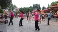 荆门向东桥广场舞.今夜舞起来