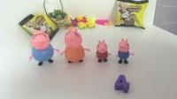 小猪佩奇学数字  粉红猪小妹学数字4  亲子早教
