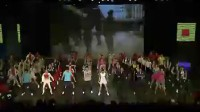 秀动中国  2011全国亿万职工全健排舞大赛闭幕式热场舞蹈