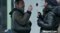 【iWebAd】Wilkinson情人节户外活动《剃须送玫瑰》