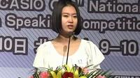诸康妮21世纪全国中学生英语演讲比赛总决赛-冠军(流畅)