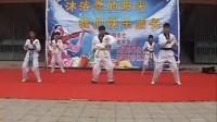 张鲁中学跆拳道表演