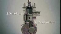 二冲程汽油机工作原理