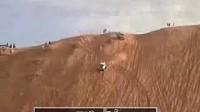 越野车垂直爬坡