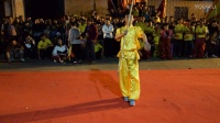 2017湛江调顺村传统年例文化节初九年例之夜 武术表演  杨宇航、莫伟明等人的精彩武术表演