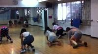 桂林2013年爵士舞新生学员练习视频(地大舞博)