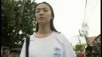 联合国难民署中国地区代言人姚晨与难民面对面