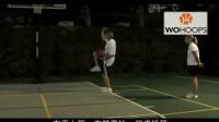 五虎篮球教学 上篮-上篮时如何保护球(ES)