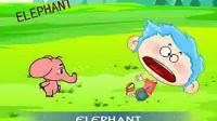 儿童英语公园动物名称