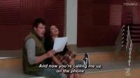 "Lea Mitchell & Cory 欢乐合唱团 Glee Season 1 -""Smile"" - Rachel & Finn"