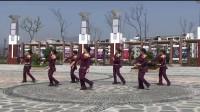 云和月广场舞:谁是我的新郎(正背面演示)