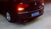 赛速排气生产厂 V3菱悦改装直排鼓