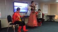 俄2 普希金号游轮纪念品乐队表演—20140723