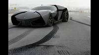 德国在读大学生设计的兰博基尼ankonian概念车