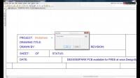 DesignSpark PCB (教程) 创建工程与原理图文件