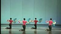 山东胶州秧歌(女班)教材  第五节  推扇训练