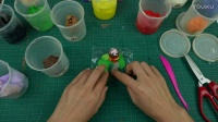 黏土手工:蘑菇村