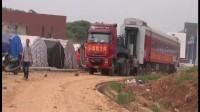 湖南大件运输公司国联物流 超长火车车厢运输 看汽车拉着火车跑