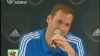 顶级门将笑谈世界杯 勇敢者的心理战