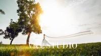 北京V视觉婚纱摄影,创意婚纱照,法国埃菲尔铁塔婚纱照