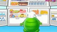 绿豆蛙-清理冰箱