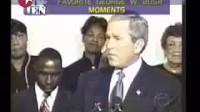 布什十大搞笑瞬间